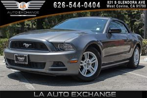 2014 Ford Mustang V6 Carfax 1-Owner 6 Cylinders Analog Display Body-Colored Door Handles Body-