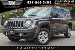 2015 Jeep Patriot Sport Carfax Report 4 Cylinders Analog Display Body-Colored Grille Chrome Ge