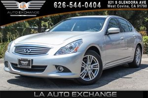 2013 INFINITI G37 Sedan x Carfax 1-Owner 6 Cylinders Air Conditioning  Multi-Zone AC Convenie