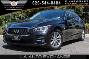 2014 INFINITI Q50  Carfax 1-Owner - No AccidentsDamage Reported 6 Cylinders Convenience  Autom