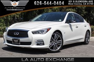 2014 INFINITI Q50 Premium Carfax 1-Owner - No AccidentsDamage Reported 6 Cylinders Convenience