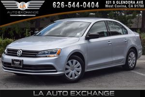 2015 Volkswagen Jetta Sedan 20L S Carfax 1-Owner 4 Cylinders Air Conditioning  AC Audio  Am