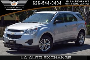 2013 Chevrolet Equinox LS Carfax 1-Owner - No AccidentsDamage Reported 4 Cylinders Audio  AmF
