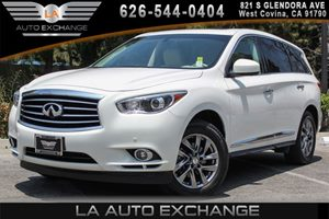 2013 INFINITI JX35  Carfax 1-Owner - No AccidentsDamage Reported 6 Cylinders Convenience  Back