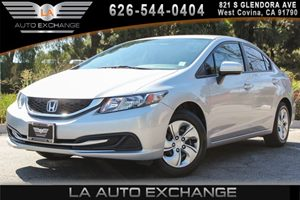 2014 Honda Civic Sedan LX Carfax 1-Owner 4 Cylinders Body-Colored Door Handles Body-Colored Fro