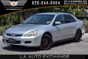 2007 Honda Accord Sdn LX Carfax Report 4 Cylinders Air Conditioning  AC Convenience  Cruise
