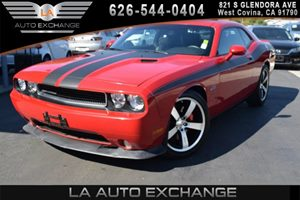 2012 Dodge Challenger SRT8 392 Carfax Report 12V Pwr Outlet 180-Mph Speedometer 6-Way Pwr Drive