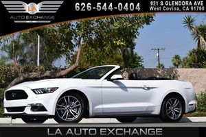 2015 Ford Mustang EcoBoost Premium Carfax 1-Owner - No AccidentsDamage Reported 2 Seatback Stora