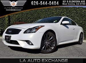 2013 Infiniti G37 Coupe Journey Carfax 1-Owner - No AccidentsDamage Reported 6 Cylinders Displa