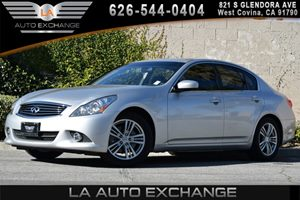 2013 Infiniti G37 Sedan Journey Carfax 1-Owner 2 Rear Seat Coat Hooks 4 Trunk Cargo Hooks 6