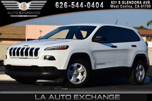 2015 Jeep Cherokee Sport Carfax 1-Owner - No AccidentsDamage Reported 3 12V Dc Power Outlets 4