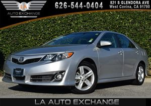 2013 Toyota Camry SE Carfax 1-Owner - No AccidentsDamage Reported Air Conditioning  AC Compac