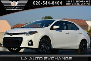 2014 Toyota Corolla S Carfax 1-Owner - No AccidentsDamage Reported Air Conditioning  AC Audio