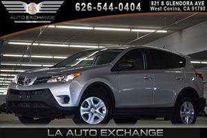 2014 Toyota RAV4 LE Carfax Report 2 Seatback Storage Pockets 5 Person Seating Capacity Black Bo