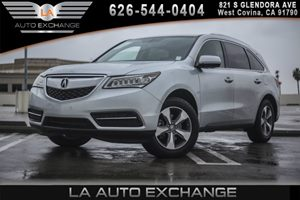 2014 Acura MDX  Carfax 1-Owner 2 Seatback Storage Pockets 3 12V Dc Power Outlets 6 Cylinders 6