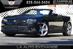 2015 Chevrolet Camaro SS Carfax 1-Owner - No AccidentsDamage Reported Air Conditioning  AC Ai
