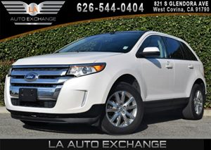 2013 Ford Edge SEL Carfax 1-Owner - No AccidentsDamage Reported 2 Coat Hooks 8 CupBottle H