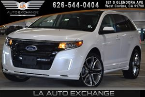 2014 Ford Edge Sport Carfax 1-Owner 2 Seatback Storage Pockets 4 12V Dc Power Outlets 5 Person