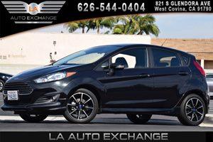 2015 Ford Fiesta SE Carfax 1-Owner 1 Seatback Storage Pocket 2 12V Dc Power Outlets 4 Cylinders