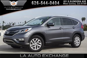 2015 Honda CR-V EX-L Carfax 1-Owner - No AccidentsDamage Reported 2 12V Dc Power Outlets 2 Seat
