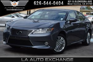 2013 Lexus ES 350 4dr Sdn Carfax 1-Owner 2 Rear Coat Hooks 6 Cylinders Air Conditioning  AC