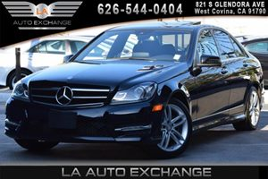 2014 MERCEDES C-Class Luxury Sedan Carfax Report 2 12V Dc Power Outlets 2 Seatback Storage Pocke