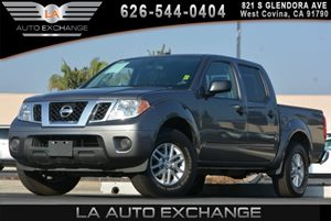 2016 Nissan Frontier SV Carfax 1-Owner - No AccidentsDamage Reported 5 Person Seating Capacity
