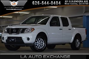2016 Nissan Frontier SV Carfax 1-Owner 5 Person Seating Capacity 6 Cylinders Black Door Handles