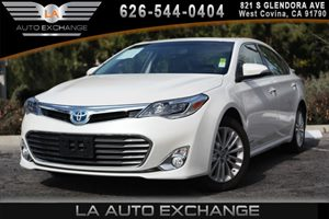 2014 Toyota Avalon Hybrid XLE Premium Carfax 1-Owner 2 Seatback Storage Pockets 3 12V Dc Power O