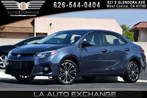 2014 Toyota Corolla S Carfax 1-Owner - No AccidentsDamage Reported 1 12V Dc Power Outlet 4 Cyli