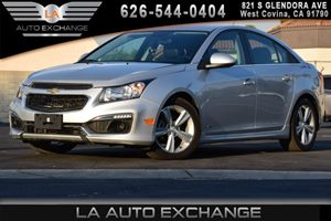 2015 Chevrolet Cruze LT Carfax Report 4 Cylinders Air Conditioning  AC Air Conditioning Sing