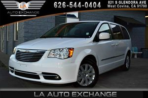 2015 Chrysler Town  Country Touring Carfax 1-Owner 2 Seatback Storage Pockets 4 12V Dc Power Ou