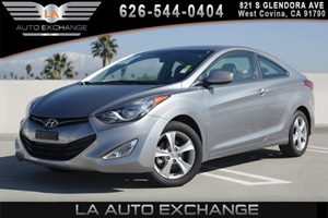 2013 Hyundai Elantra Coupe GS Carfax 1-Owner 4 Cylinders 6040 Split Fold-Down Rear Seats Air C