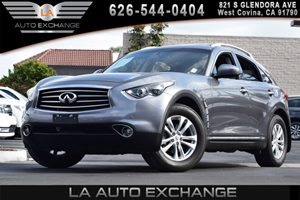 2013 Infiniti FX37  Carfax 1-Owner 4 Pop-Up Tie-Down Cargo Hooks 10-Way Pwr Driver Seat WPwr