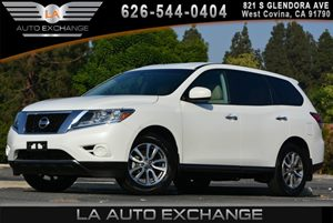 2014 Nissan Pathfinder S Carfax 1-Owner - No AccidentsDamage Reported Black Grille WChrome Surr