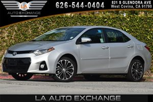 2015 Toyota Corolla S Plus Carfax 1-Owner - No AccidentsDamage Reported 1 12V Dc Power Outlet 4