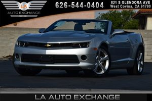 2015 Chevrolet Camaro LT Carfax 1-Owner - No AccidentsDamage Reported 6 Cylinders Air Condition