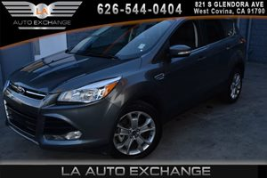 2014 Ford Escape Titanium Carfax 1-Owner - No AccidentsDamage Reported  Sterling Gray Metallic