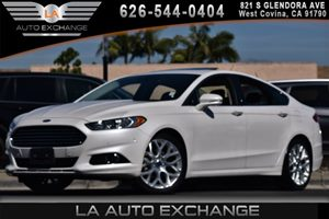 2014 Ford Fusion Titanium Carfax 1-Owner 3 12V Dc Power Outlets 4 Cylinders 5 Person Seating Ca