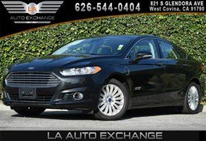 2014 Ford Fusion Energi Titanium Carfax 1-Owner - No AccidentsDamage Reported 2 Seatback Storage