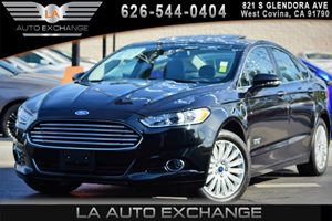 2014 Ford Fusion Energi Titanium Carfax 1-Owner - No AccidentsDamage Reported 2 Seatback Storage