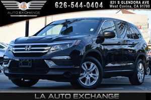 2016 Honda Pilot LX Carfax 1-Owner - No AccidentsDamage Reported 1 Seatback Storage Pocket 2 12