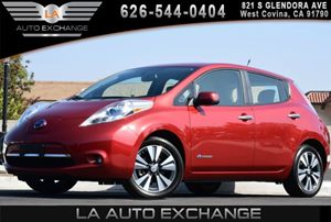 2013 Nissan LEAF SL Carfax 1-Owner 0 Cylinders 12V Pwr Outlet Automatic Temp Control Convenien