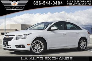 2013 Chevrolet Cruze ECO Carfax 1-Owner - No AccidentsDamage Reported 4 Cylinders Aero Performa