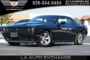 2015 Dodge Challenger SXT Carfax 1-Owner 2 12V Dc Power Outlets 4-Way Passenger Seat -Inc Manua