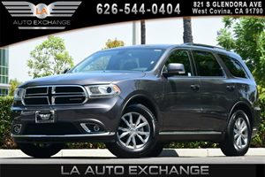 2015 Dodge Durango SXT Carfax 1-Owner - No AccidentsDamage Reported 3 12V Dc Power Outlets 4-Wa