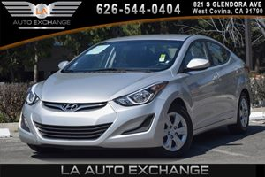 2016 Hyundai Elantra SE Carfax 1-Owner 4 Cylinders Air Conditioning  AC Air Filtration Audio