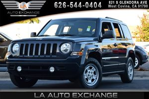 2016 Jeep Patriot Sport Carfax 1-Owner - No AccidentsDamage Reported 1 12V Dc Power Outlet 4 Cy