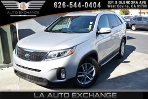2014 Kia Sorento LX Carfax 1-Owner 2 Seatback Storage Pockets 3 12V Dc Power Outlets 4 Cylinder