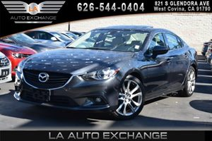 2014 Mazda Mazda6 i Grand Touring Carfax 1-Owner 2 12V Dc Power Outlets 2 Seatback Storage Pocke
